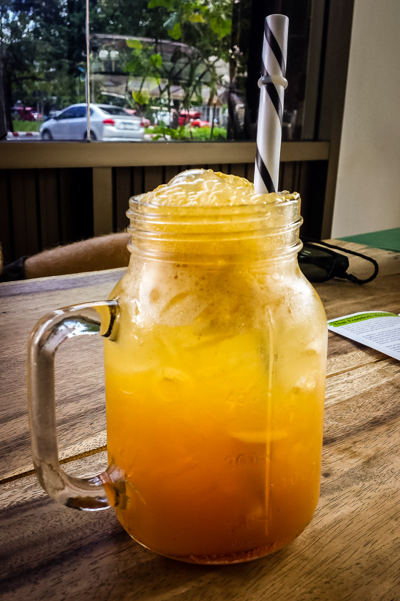 Apple Spritzer - Eat Burmese Food With a Cause in Chiang Mai, Thailand.jpg