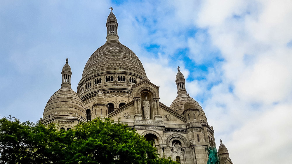 Sacre Coeur Photo Copyright Ruby Boukabou