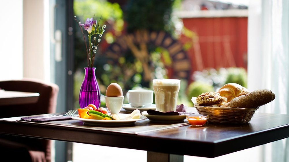 Breakfast in the green hotel in Vienna. Photo: Boutiquehotel Stadthalle Vienna.