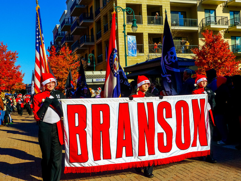 Parade, Branson. Photo by Johanna Read TravelEater.net