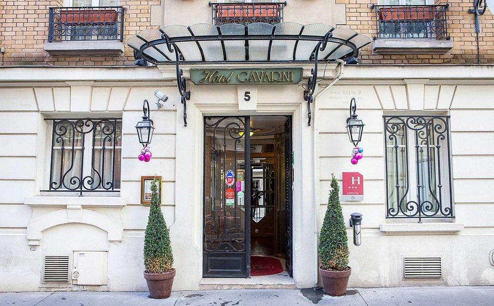 Hotel Gavarni, Paris. Photo: http://www.gavarni.com