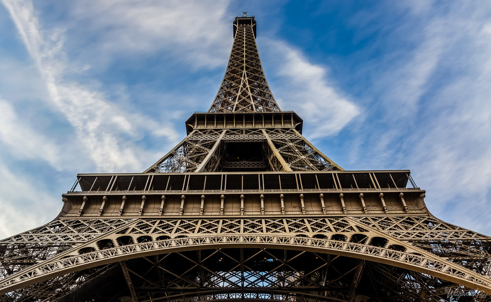 Eiffel Tower. Photo: Zygmunt Spray