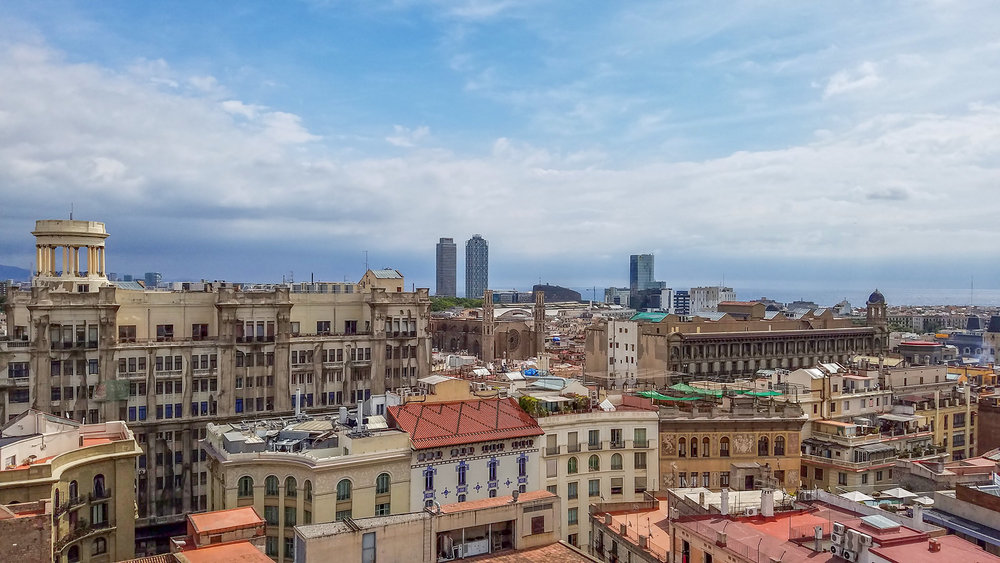 6. Barcelona city view - Photo by Shelley Treadaway