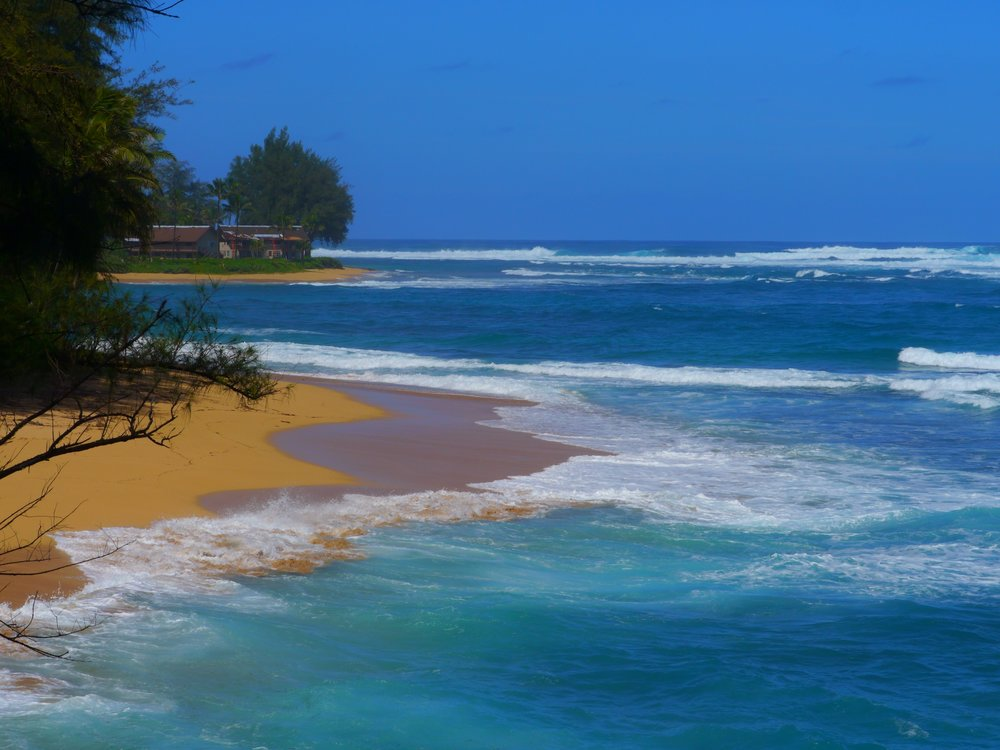 Kauai's north shore. Photo by Johanna Read TravelEater.net.JPG