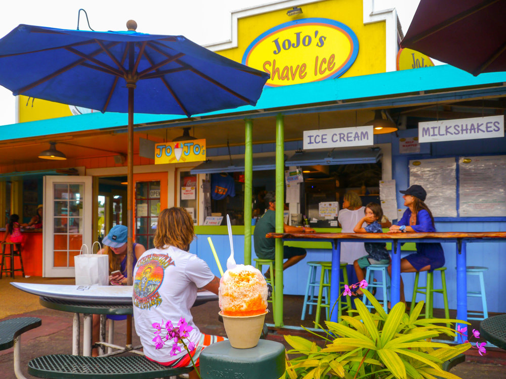 JoJo's Shave Ice, Kauai. Photo by Johanna Read TravelEater.net.JPG