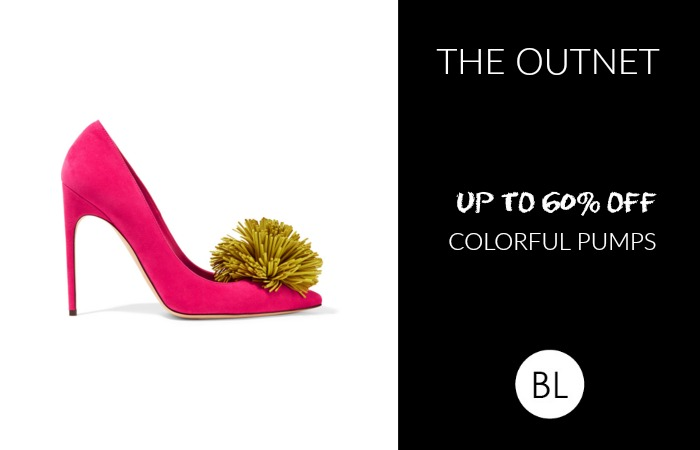 The Outnet Sale: Up to 65% OFF Colorful Pumps    Shop Our Picks
