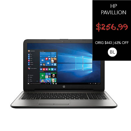 "HP Pavilion 15-ay052nr 15.6"" Laptop Intel i3-6100U 2.3GHz 4GB 1TB Windows 10"