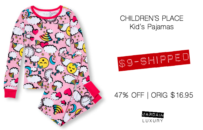 Children's Place Kids Pajamas $9.jpg