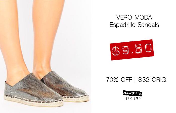 Vero Moda Espadrilles Saldals $9.50 70OFF.jpg