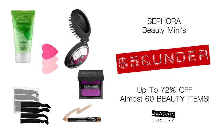 SEPHORA Beauty Mini's $5 & UNDER up to 72 OFF almost 60 beauty items.jpg