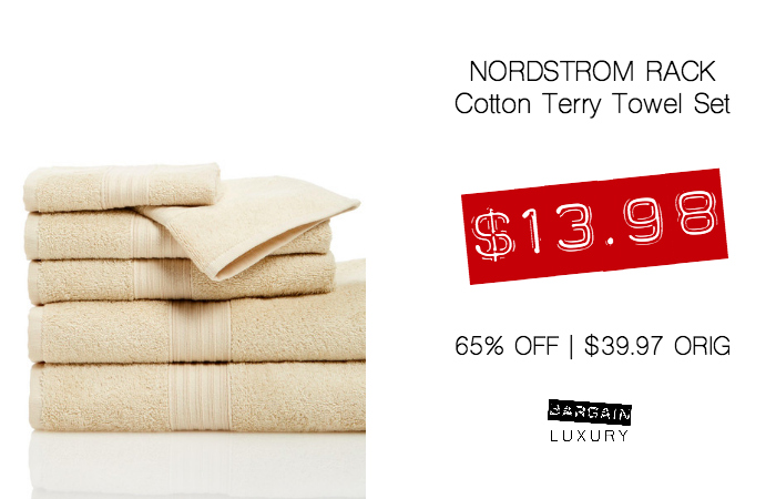 NORDSTROM RACK Cotton Terry Towel Set $13.98 65 OFF $39.97 ORIG.jpg
