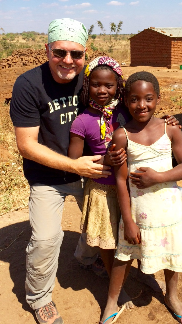 WITH ESTA AND BELLA IN THE VILLAGE OF MATAKA, THE SWEETEST GIRLS IN LILONGWE.