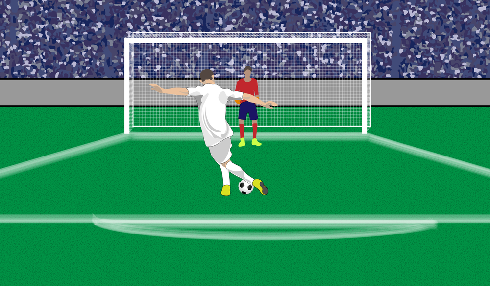 PENALTY KICK.    Click image to enlarge.