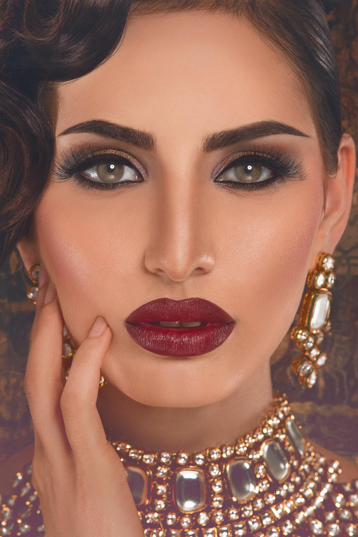 Selina Manir Makeup Academy Portfolio Day