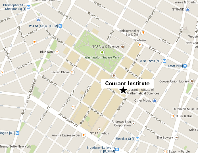 Directions to Courant