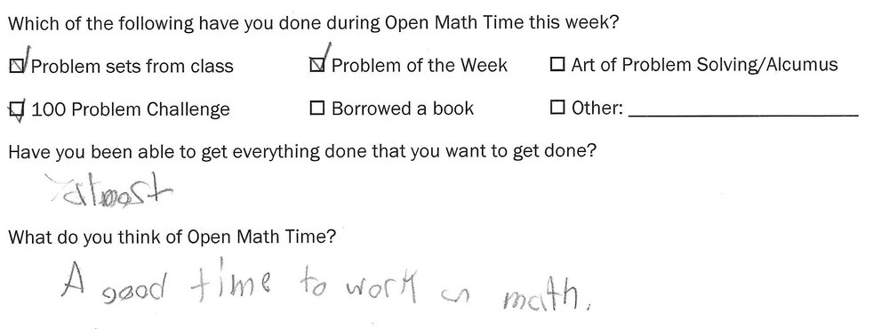 """A good time to work on math."""