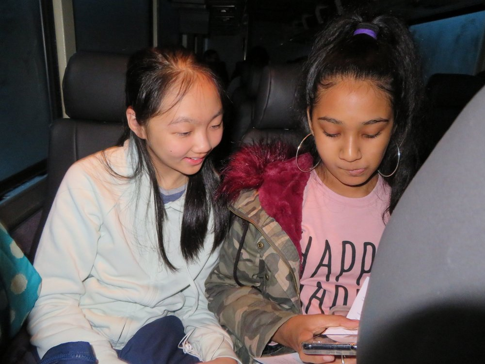 Faoziah and Yilin on Bus.JPG