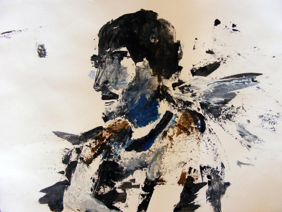 Andy (2010), acrylic