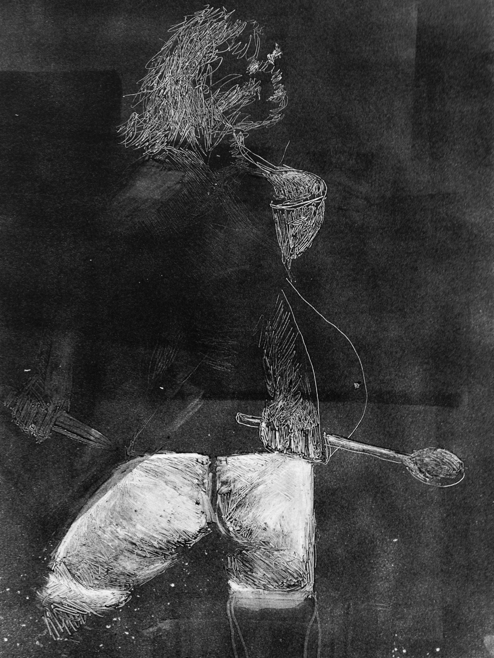 Untitled, 2013, monotype