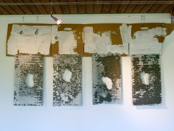 """Anamnesis: """"mother"""" 2011, installation, Bildinshaus St Benedikt, Seitenstetten, Austria"""
