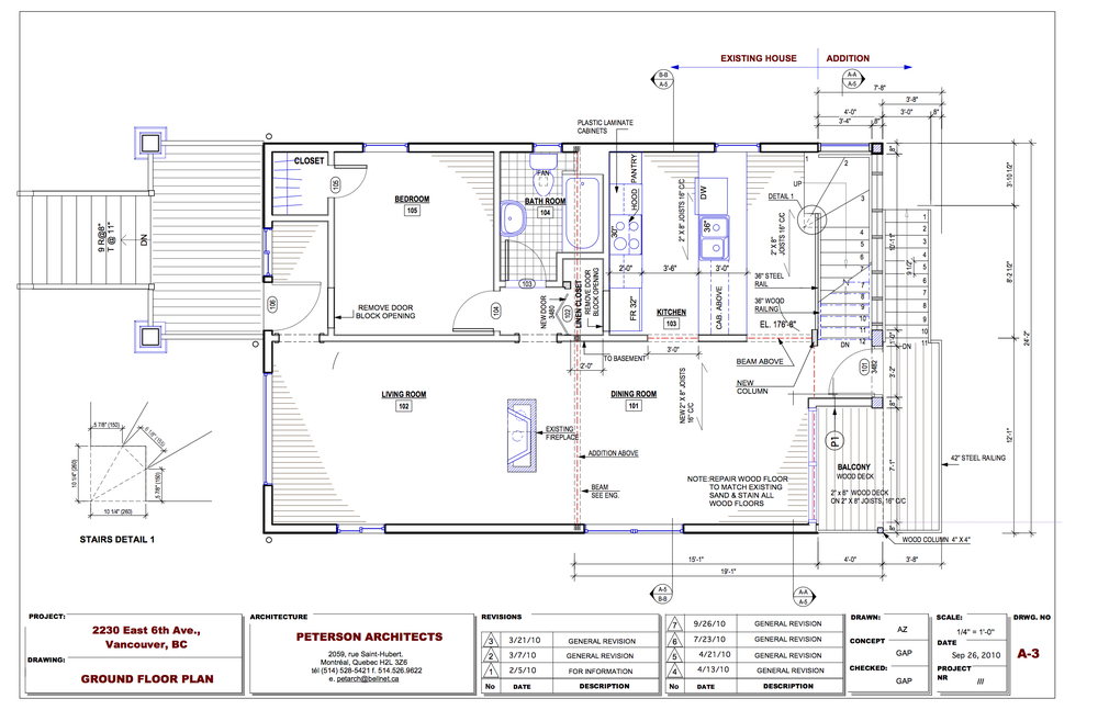 New Ground Floor Plan