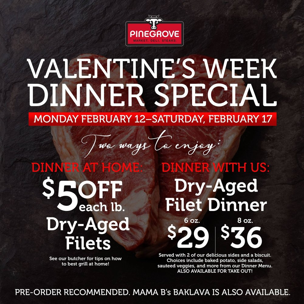 Pinegrove Valentine's Day Special