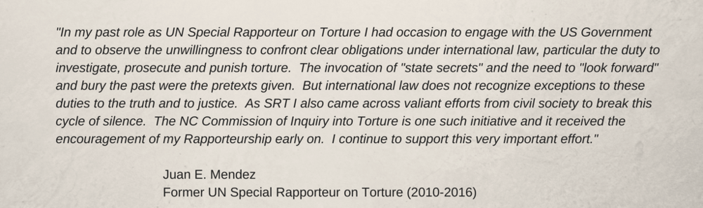 -In my past role as UN Special Rapporteur on Torture I had occasion to engage with the US Government and to observe the unwillingness to confront clear obligations under international law, particular the duty to inve.png