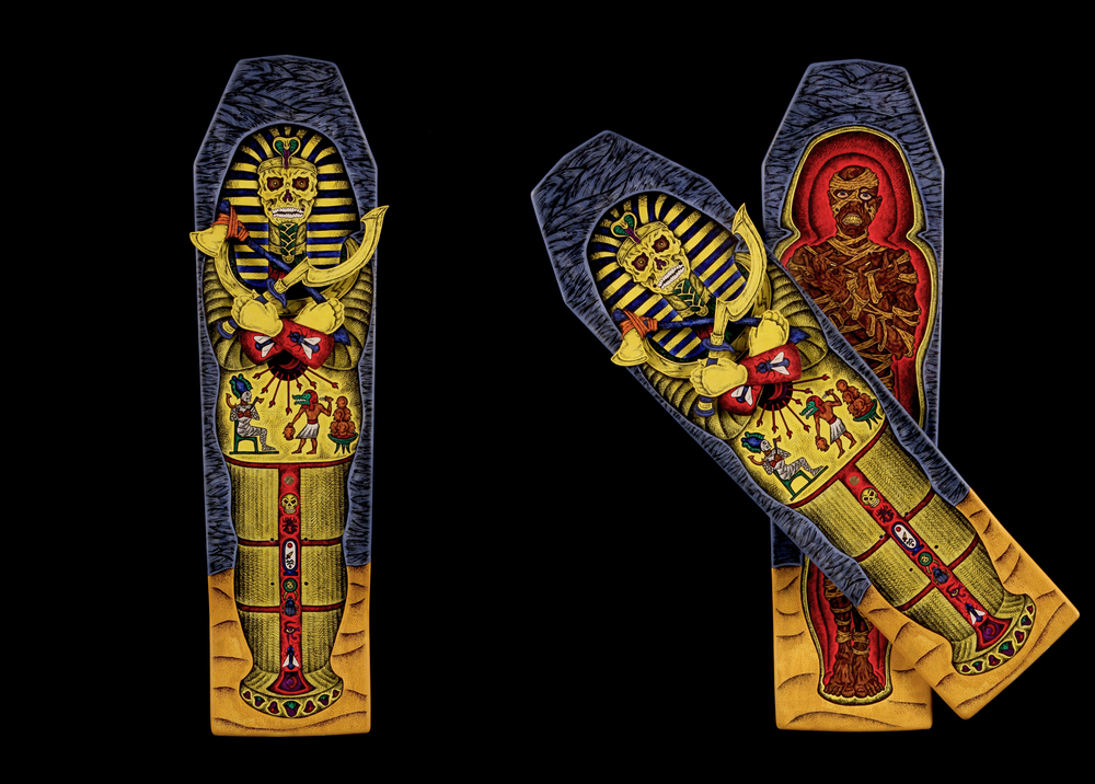 Cursed Mummy Sarcophagus