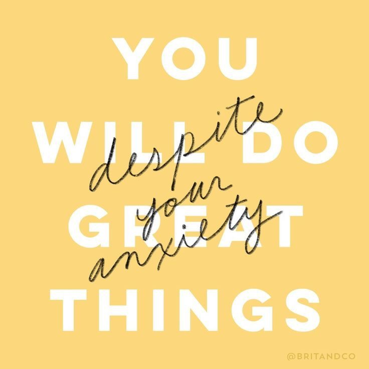 You Will Do Great Things (Despite Your Anxiety) Rachel Camfield