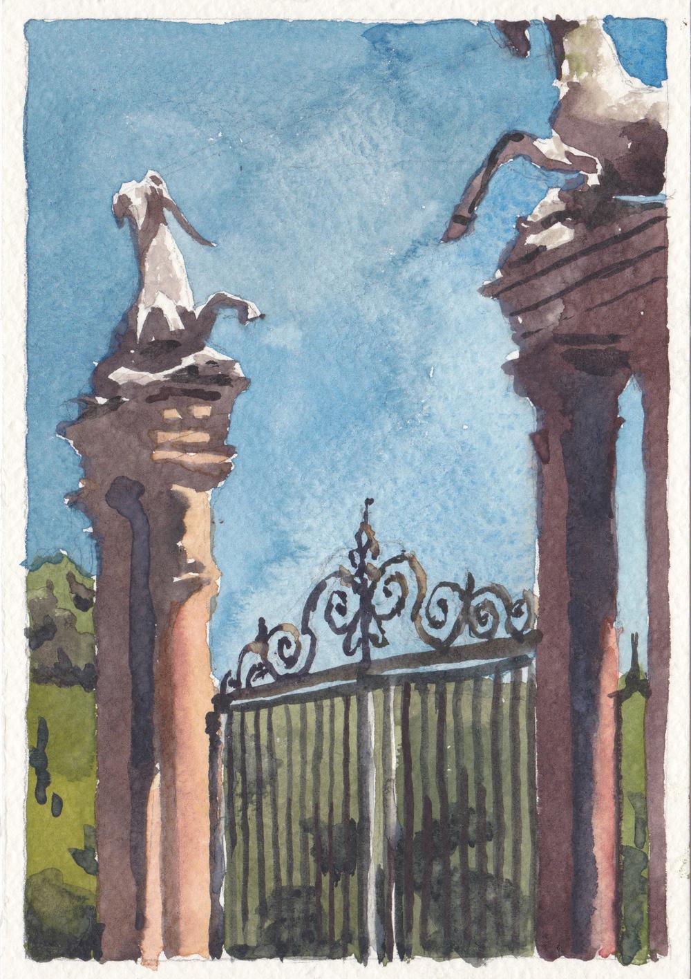 Gate at Boboli Gardens