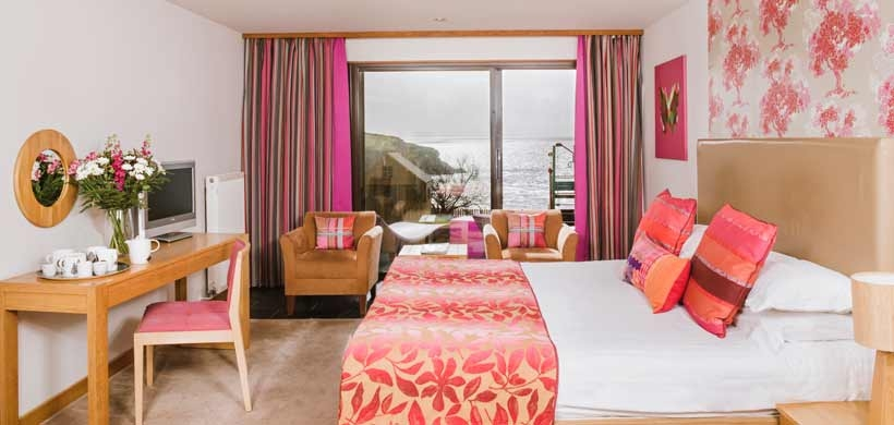 Bedruthan Hotel - Stay on site, with rooms starting from just £120 including breakfast.