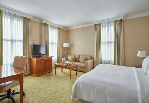 Marriott Birmingham - Located close by with prices starting from just £89