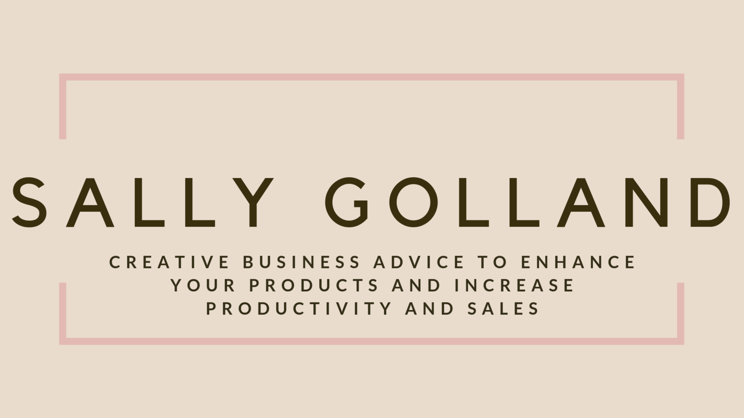Sally Golland Ecommerce and small business Consultancy