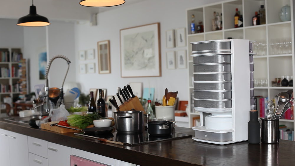 The beautiful Hive in a kitchen!