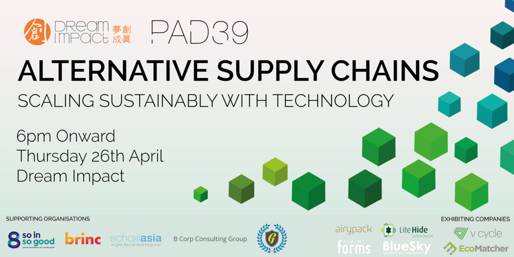 Get your ticket for FREE (Drinks and food will be provided)   https://www.eventbrite.com/e/alternative-supply-chains-scaling-sustainably-with-technology-tickets-44628690615