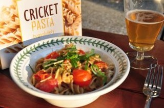 Check out his cricket pasta! 😋🐛 http://bit.ly/2DhgGzM  Start farming and our Hive™ here: http://bit.ly/farmNOW  are YOU #farming yet? #entomophagy #edibleinsects #entovegan #bugappetit #futurefood #superfood #vitalproteins #b12supplements #foodsecurity #sustainablefood #ketodiet #paleodiet #vegandiet #farmtotable #foodinnovation #farmers #internetoffood #organic #protein #healthyoil #nogmo #circulareconomy #urbanfarming #upcycle #wholesome #healthy #cricketpasta #cook #chef