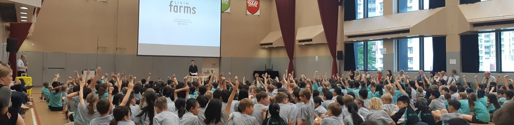 """""""Introducing the Hive to the students was the most intriguing and relevant action we had this year. It is such an innovative and effective way to taking STEM learning to the classroom."""" according to this school whom we provided seminar to 500+ students."""