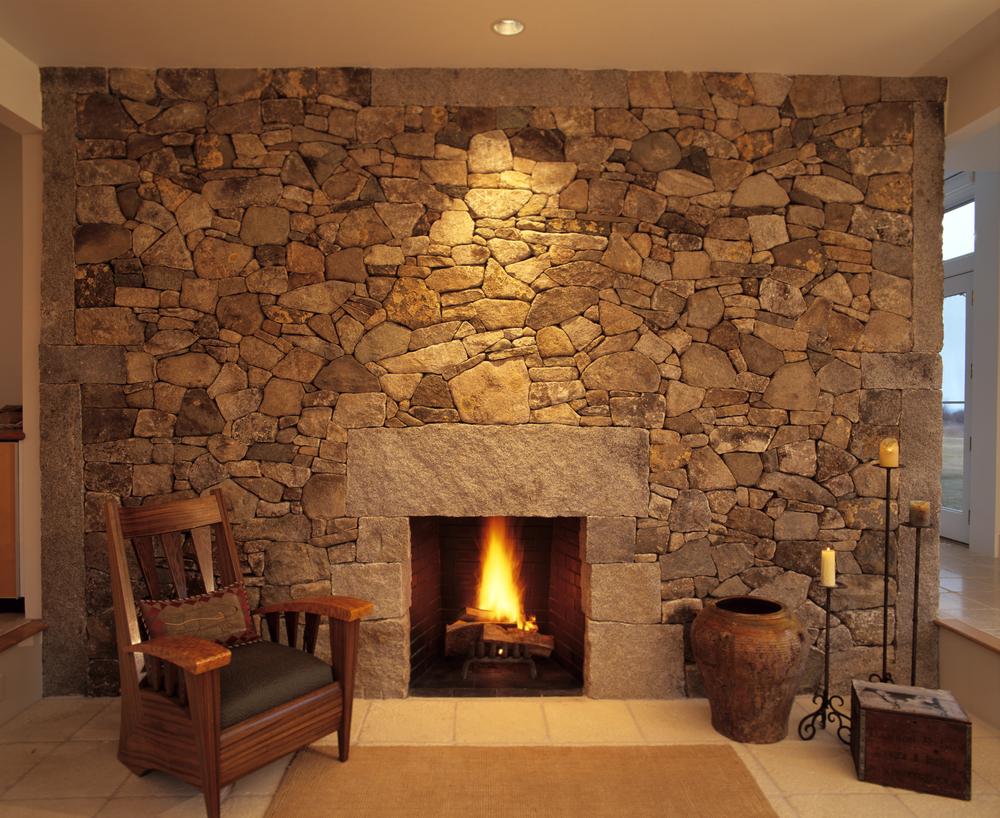 Как сделать камни на стене