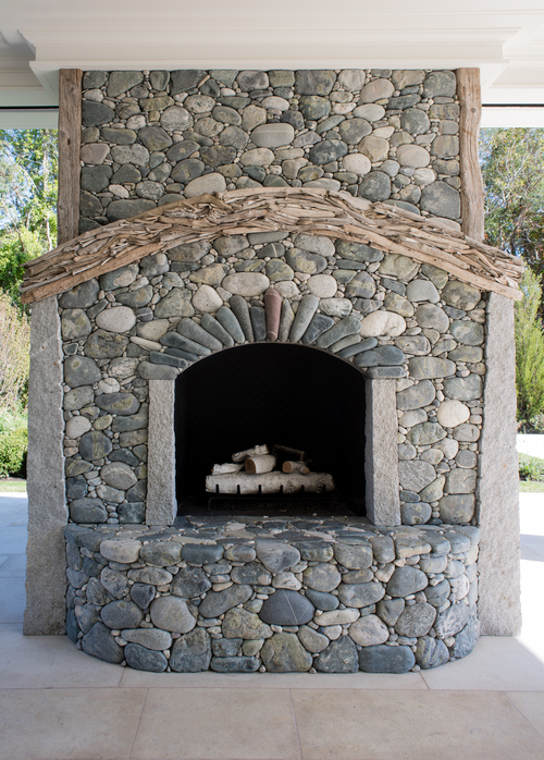 Unique Fireplaces — Lew French | Stone By Design VL89
