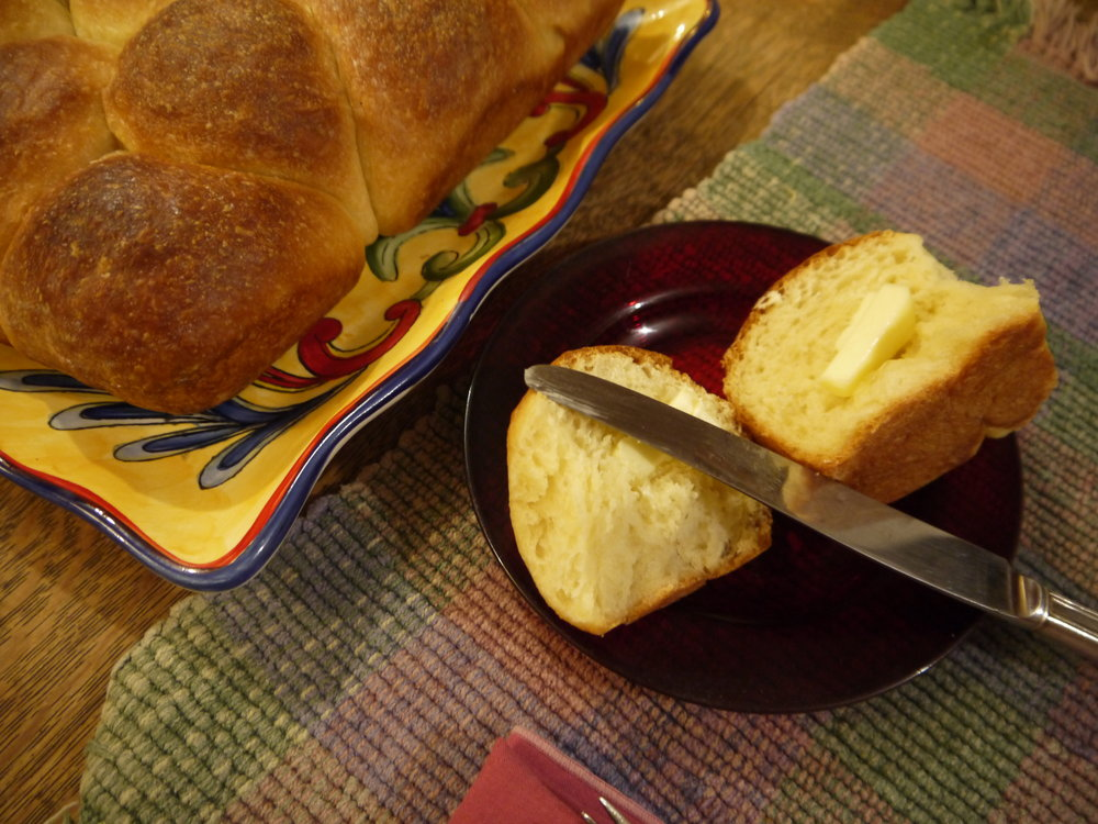 Amish Potato Rolls -- the perfect holiday roll.  Made with lard.