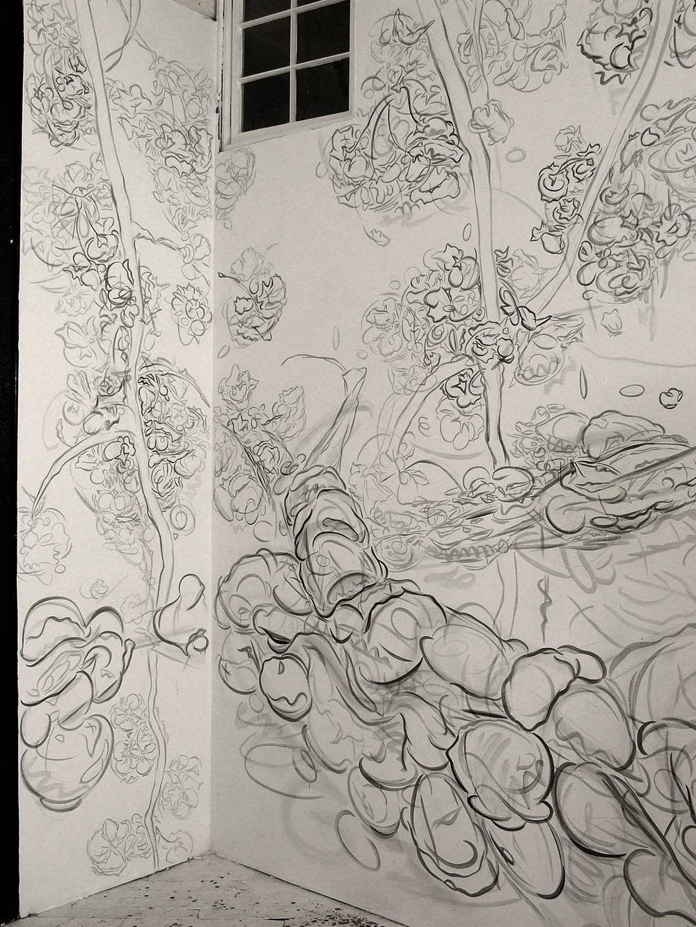 Spring Festival,    detail