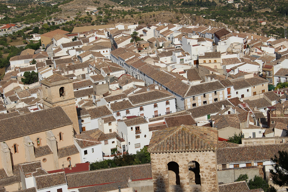 Village of Vélez Blanco, Almería.