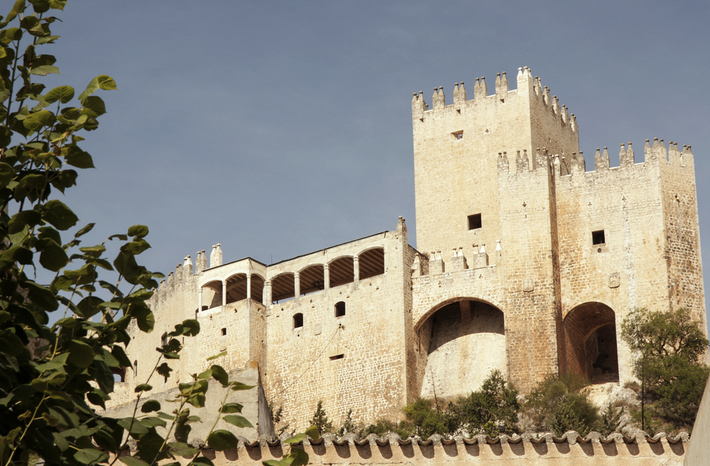 View of the Castillo de los Fajardo, Vélez Blanco.