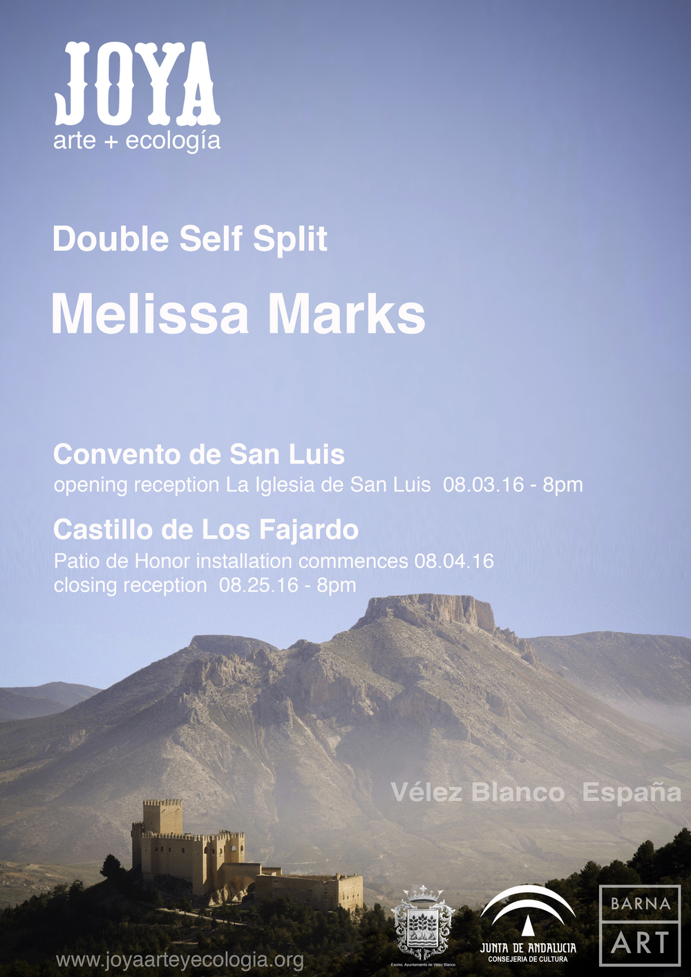 Double Self Split - Melissa Marks - poster