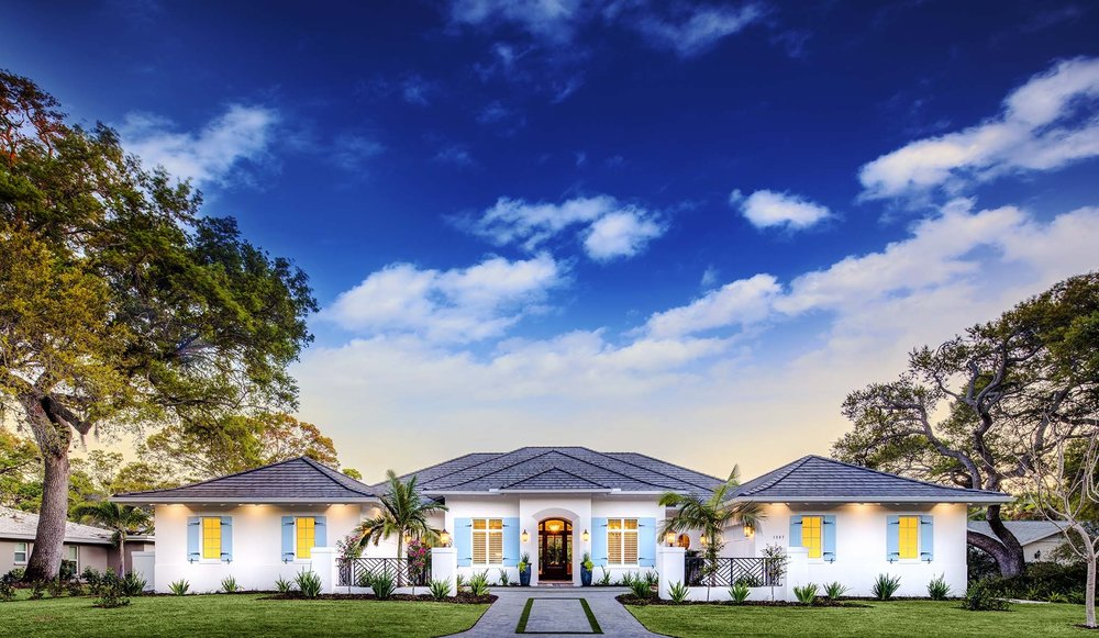Custom Homes by Heritage Builders - Sarasota, Florida