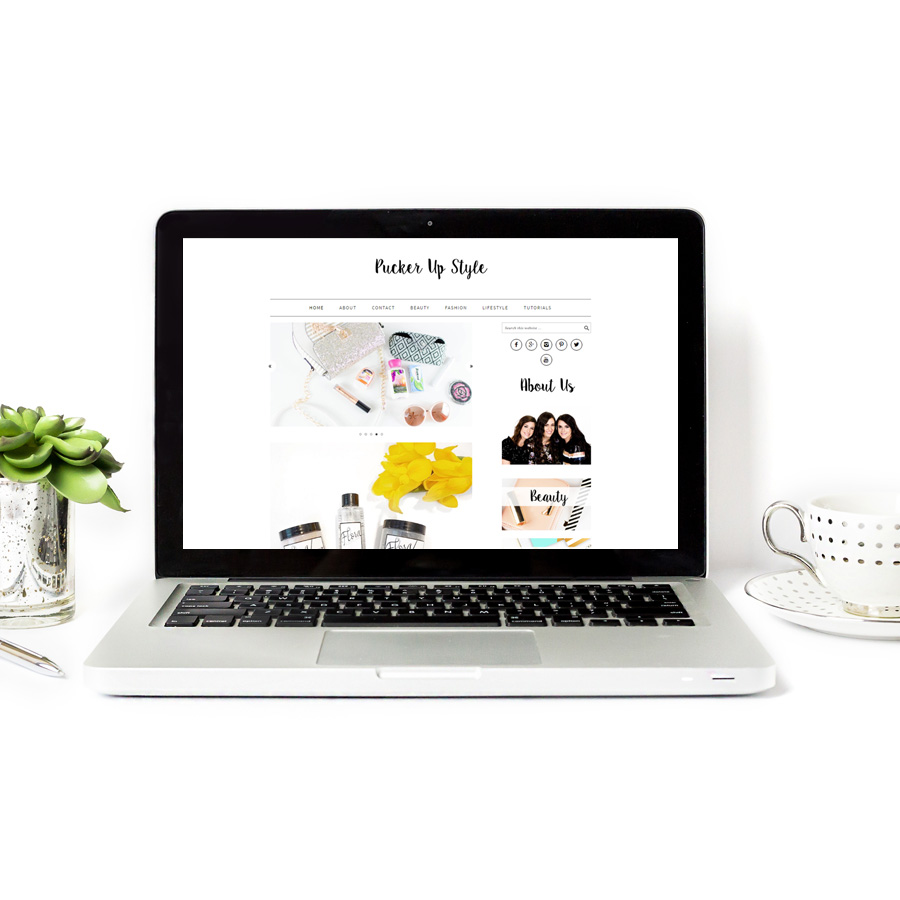 Website Designer for Fashion Blogger