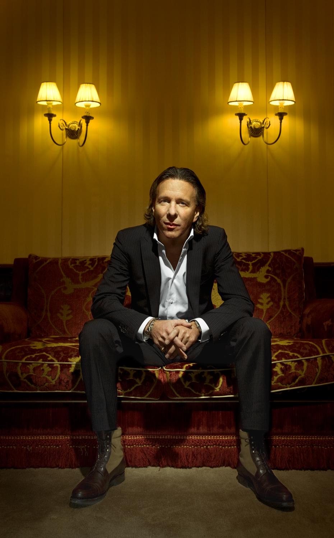 Alain Crevet, CEO magazine