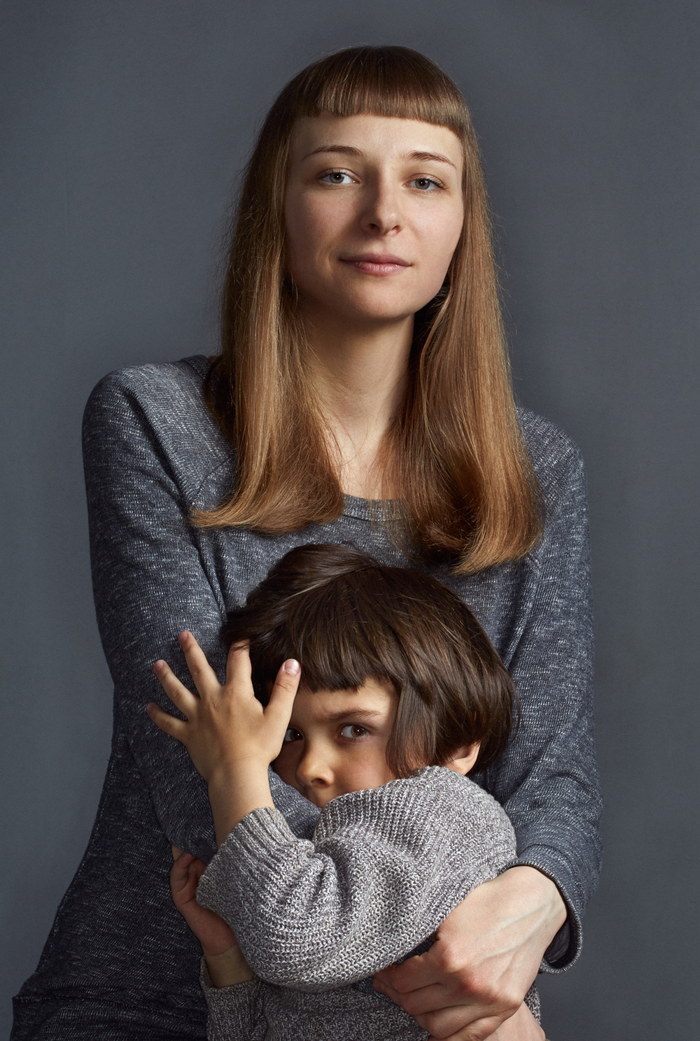 Anna Kortyukova with Ruslan