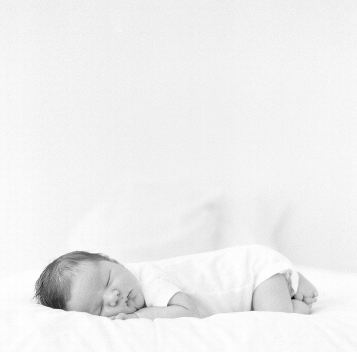 Sandra Coan newborn on film