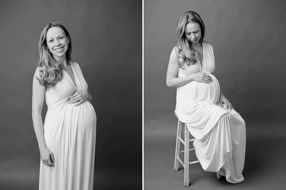 Sandra Coan, maternity photography shot on film, Seattle WA